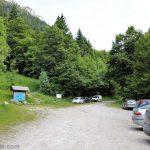 Parking Pré Orcel - départ pour le Col de l'Alpe (Chartreuse)