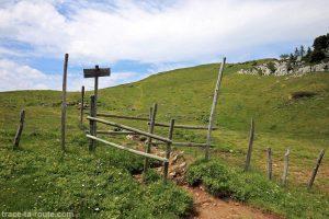 Le Col de l'Alpe et la Croix de l'Alpe, en Chartreuse