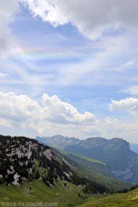 Arc Circumhorizontal au Col de l'Alpe en Chartreuse