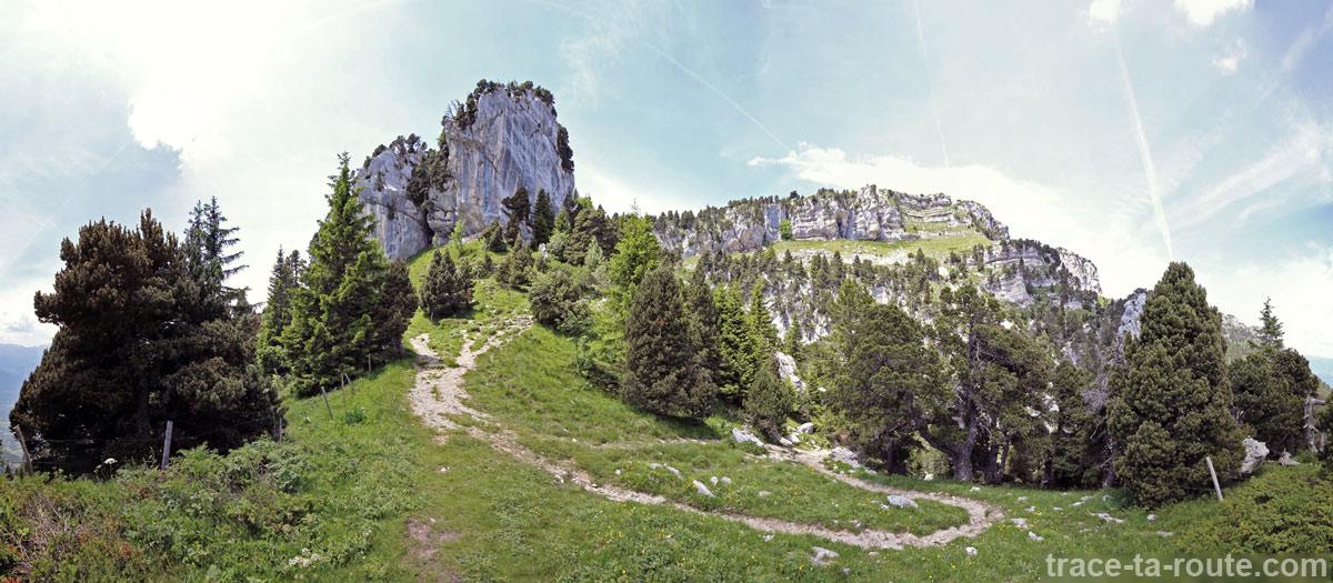 Le Col de l'Alpe, Chartreuse
