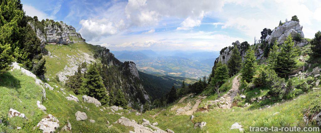 La Combe de Savoie depuis le Col de l'Alpe (Chartreuse)