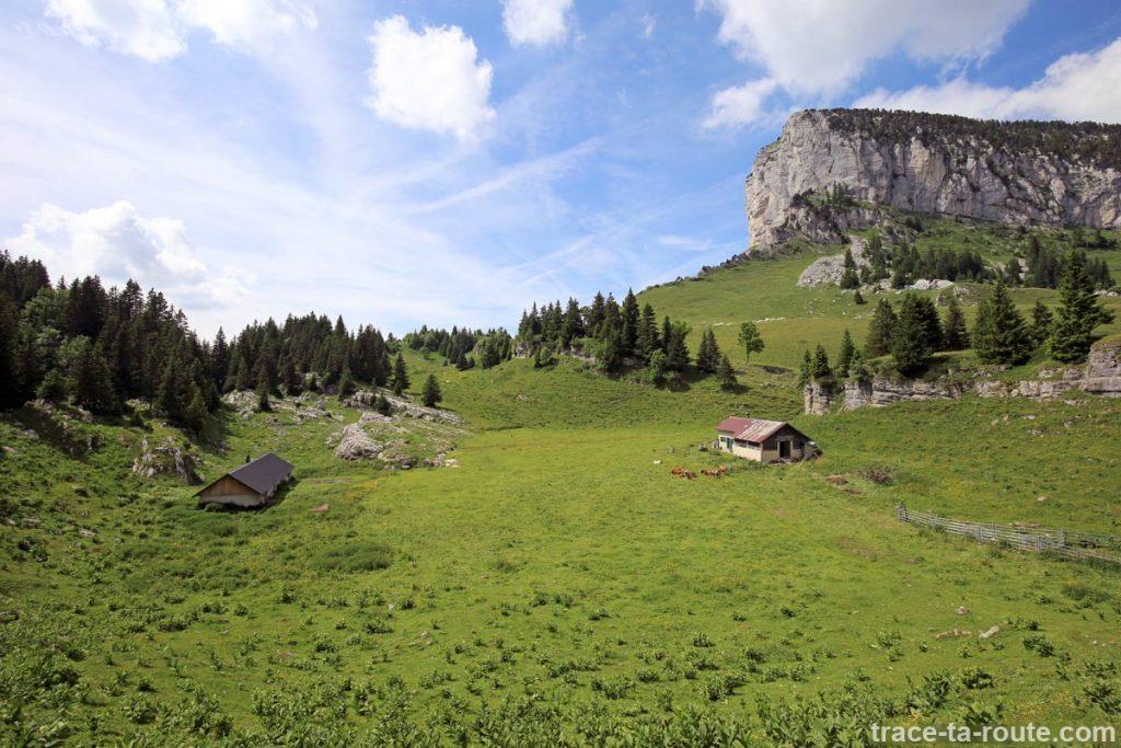Les Cabanes de l'Alpette, en Chartreuse