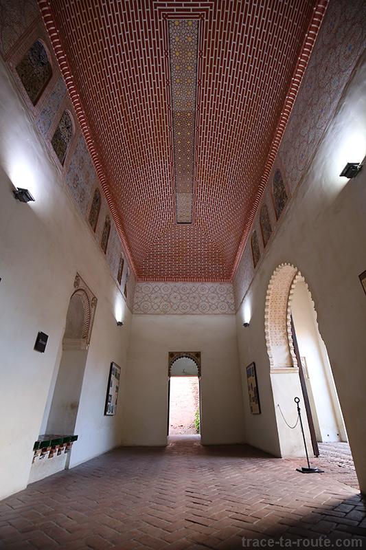 Salle de Alcazaba, palais arabe de Malaga