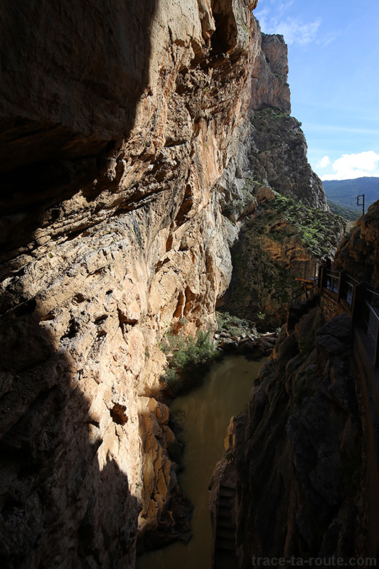 Gorge au Caminito del Rey - Ardales, Malaga, Andalousie, Espagne - édouard photographie © Trace Ta Route