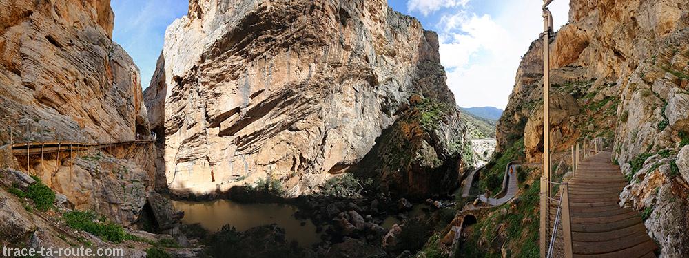 Canyon du Caminito del Rey - Ardales, Malaga, Andalousie, Espagne