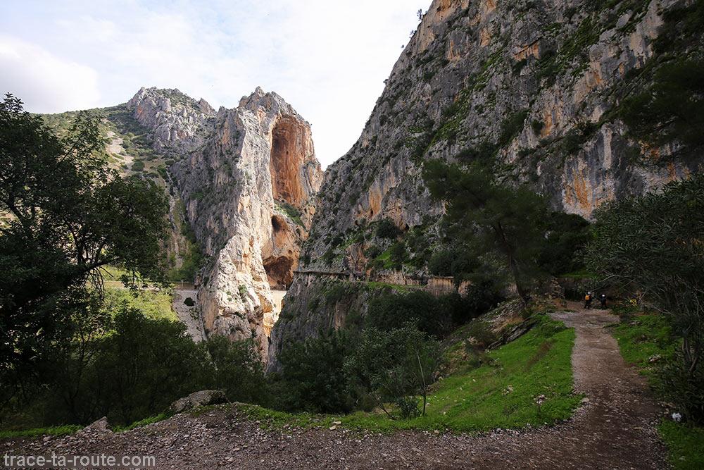 Chemin du Caminito del Rey - Ardales, Malaga, Andalousie, Espagne