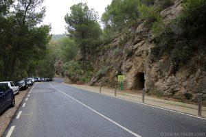 Tunnel accès pour le Caminito del Rey, vers le Restaurant El Mirador Ardales