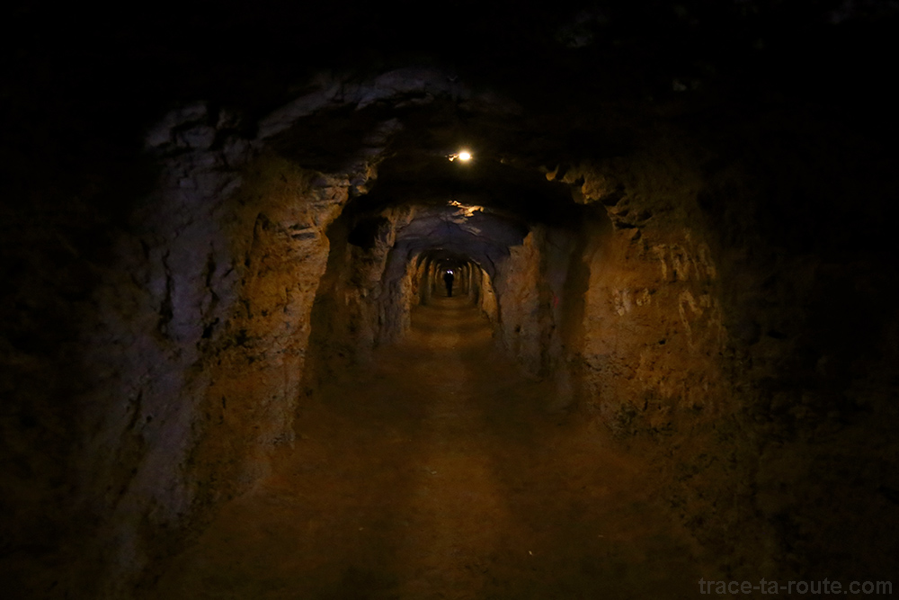 Tunnel accès pour le Caminito del Rey