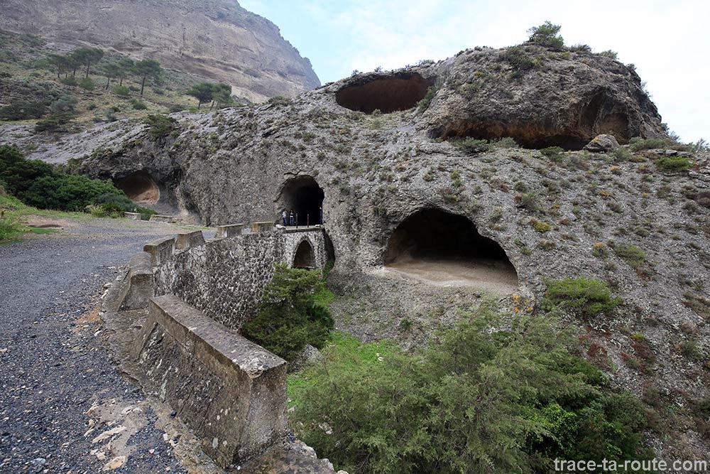 Chemin d'accès pour le Caminito del Rey