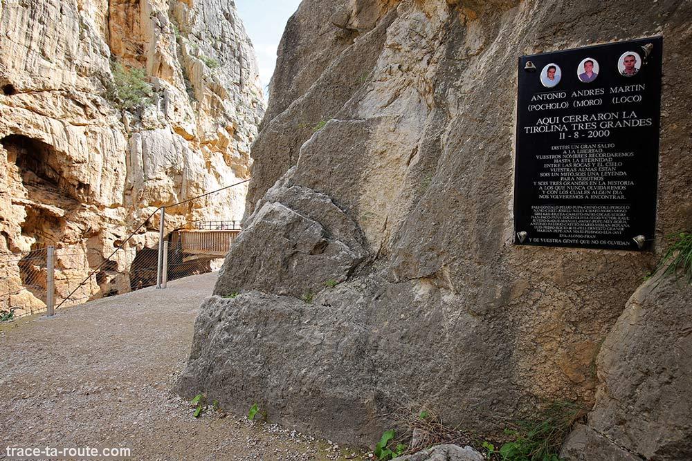 Accidents Morts Via ferrata Caminito del Rey - El Chorro Andalousie Espagne Andalucia Espana Spain mountain