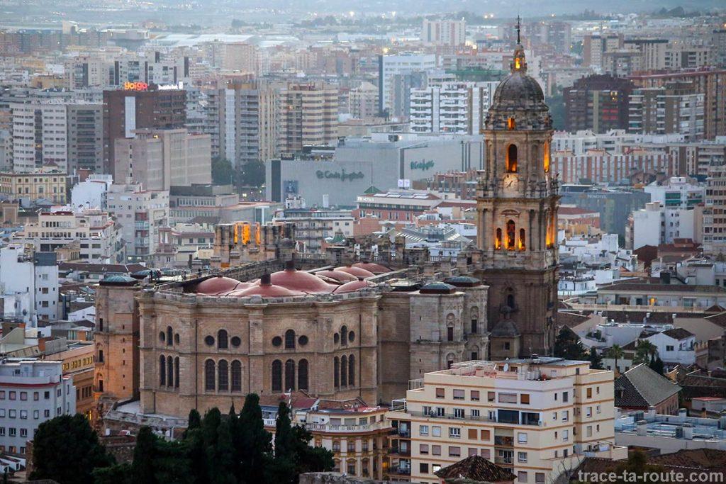 """La Cathédrale de l'Incarnation de Malaga (Catedral de la Encarnación """"La Manquita"""")"""