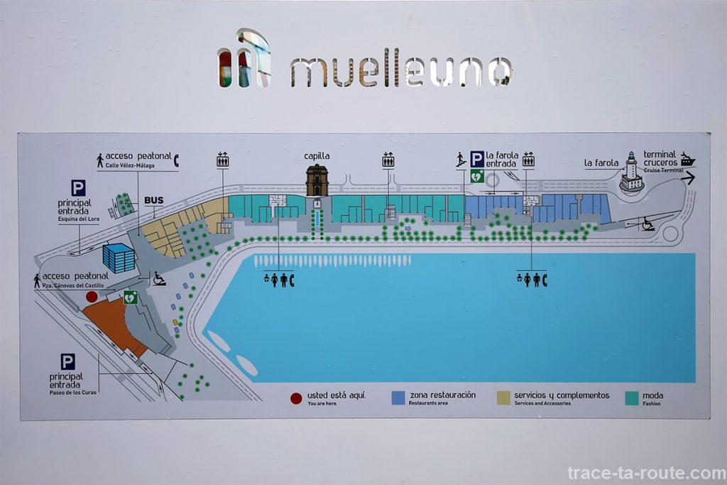 Plan de MuelleUno, Port de Malaga