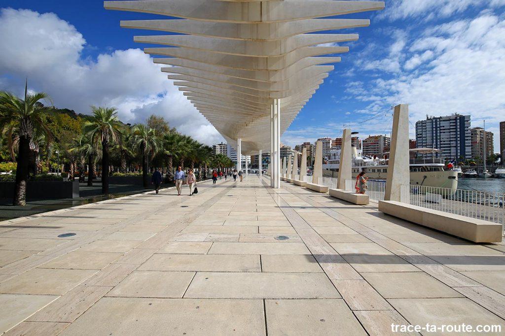 Quai de MuelleUno, Port de Malaga