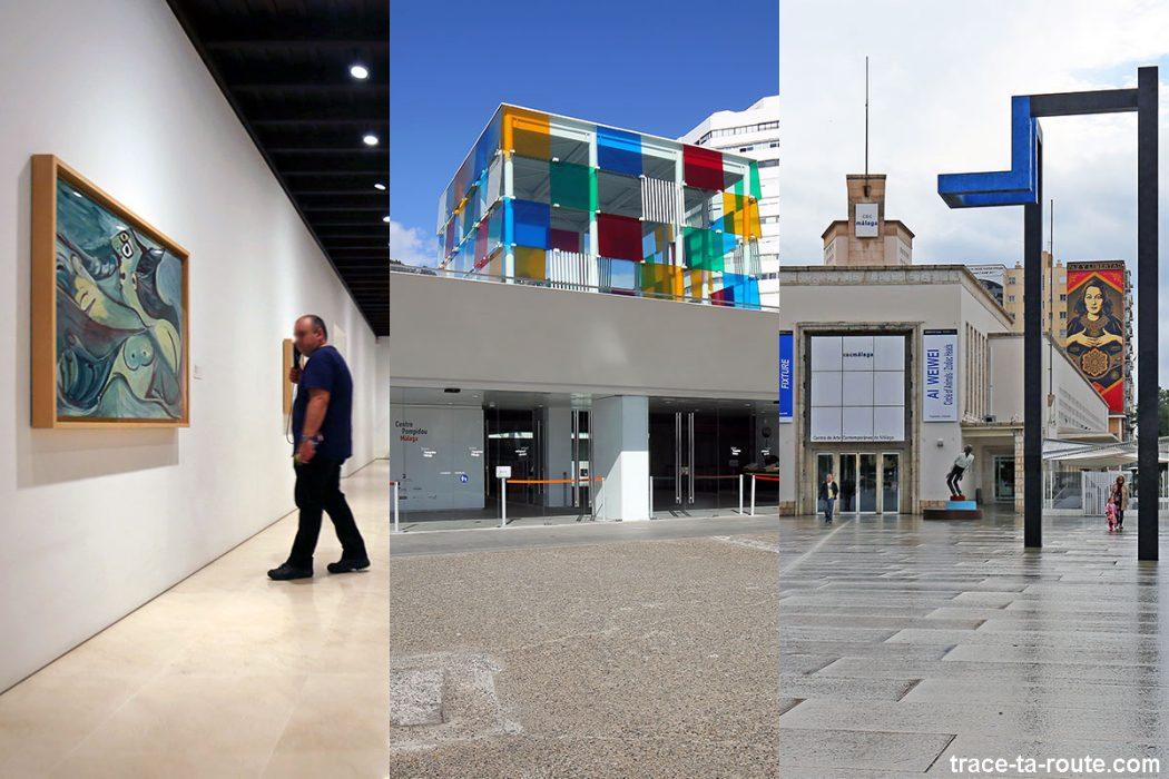 Musées de Malaga : Musée Picasso, Centre Pompidou Malaga, CAC Malaga