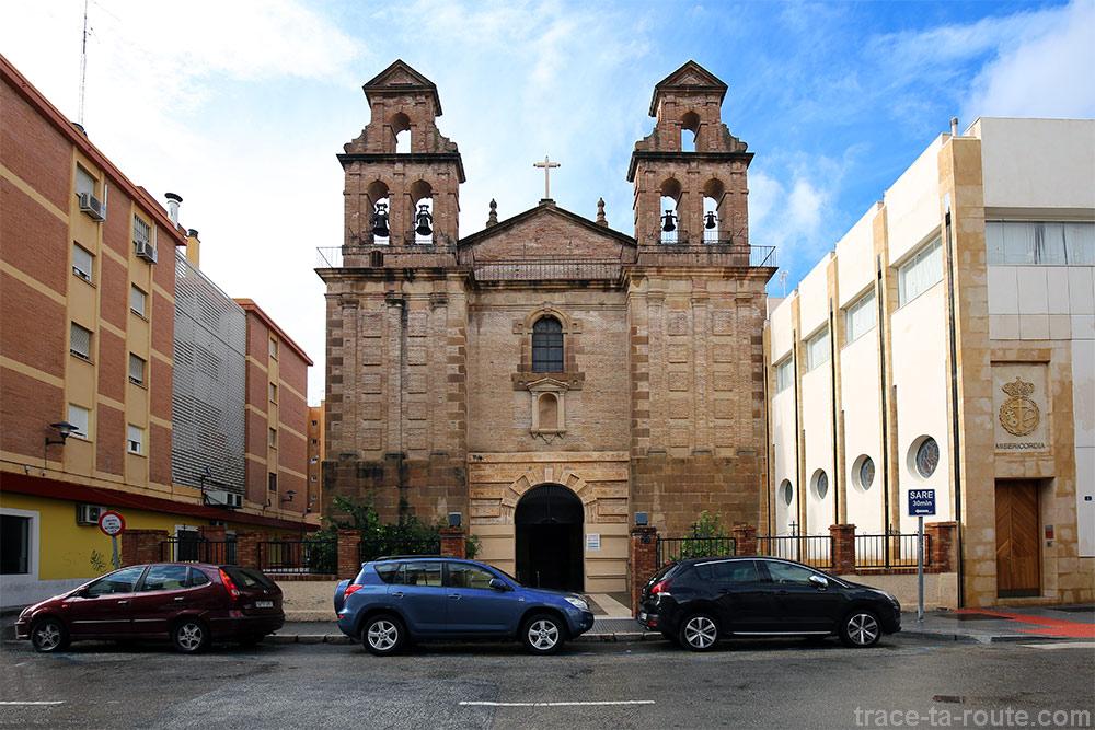 Parroquia Nuestra Señora del Carmen - Calle de la Plaza de Toros Vieja Málaga