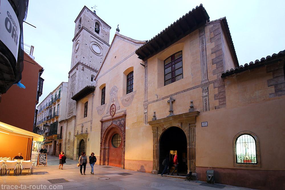 Iglesia de Santiago Apóstol - Calle Granada, Málaga