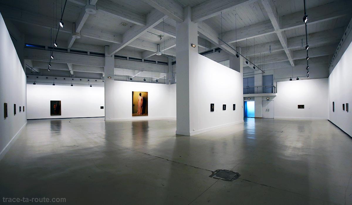 Exposition Michael Borremans Centre d'Art Contemporain CAC Malaga - Salle intérieur