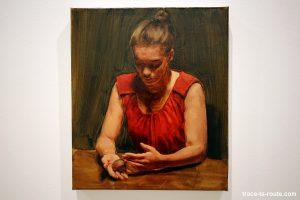 """""""The egg IV"""" (2012) Michaël BORREMANS - Exposition """"fixture"""" au Centre d'Art Contemporain CAC Malaga"""