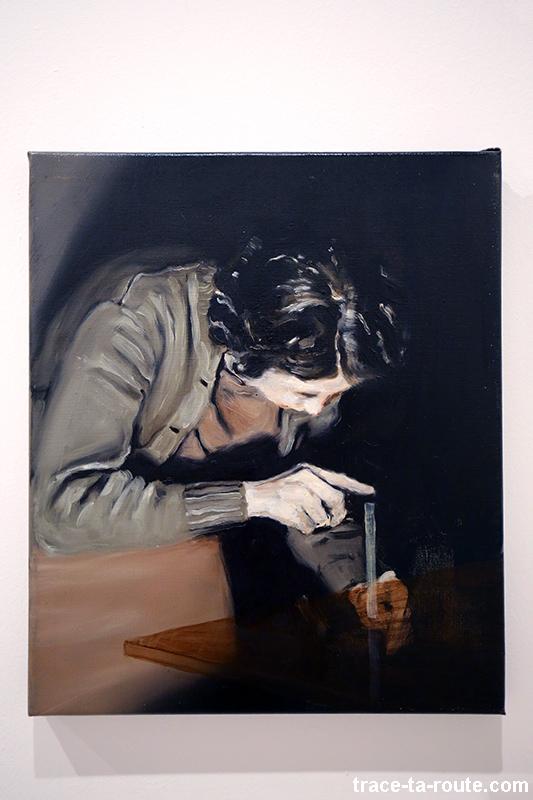 """""""The trick"""" (2002) Michaël BORREMANS - Exposition """"fixture"""" au Centre d'Art Contemporain CAC Malaga"""