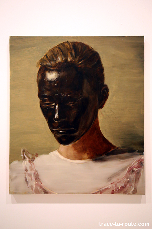 """The angel"" (2013) Michaël BORREMANS - Exposition ""fixture"" au Centre d'Art Contemporain CAC Malaga"