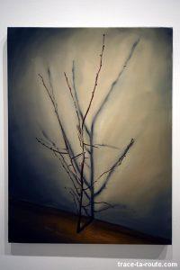 """""""The branch"""" (2003) Michaël BORREMANS - Exposition """"fixture"""" au Centre d'Art Contemporain CAC Malaga"""