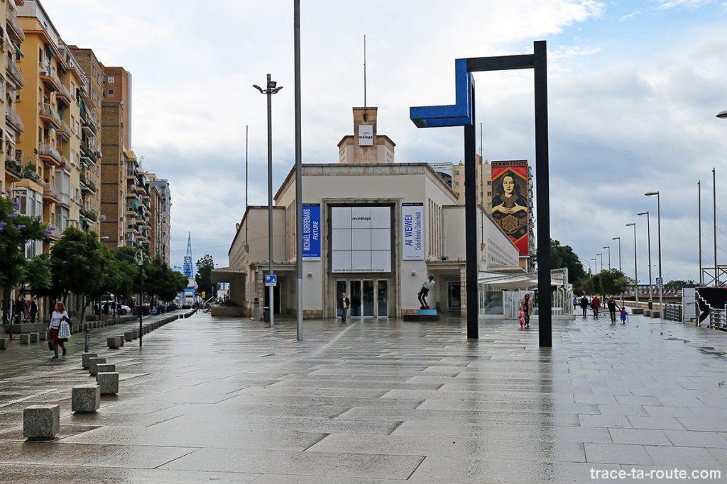 Centre d'Art Contemporain CAC Malaga et Calle Alemania