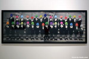 Au revoir les enfants (2003) Carmen CALVO - Collection permanente du Centre d'Art Contemporain CAC Malaga