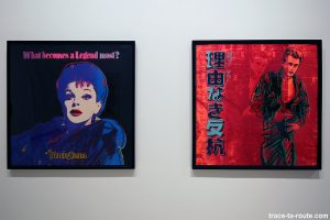 Blackglama (Judy Garland) (1985) - Rebel with a cause (James Dean) (1985) Andy WARHOL - Collection permanente du Centre d'Art Contemporain CAC Malaga