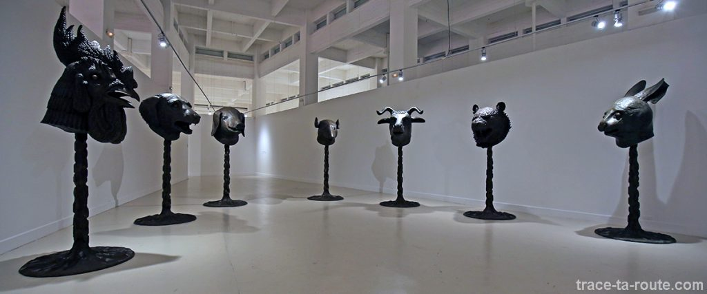 Circle of Animals / Zodiac Heads (2010) Ai WEIWEI - Collection permanente du Centre d'Art Contemporain CAC Malaga