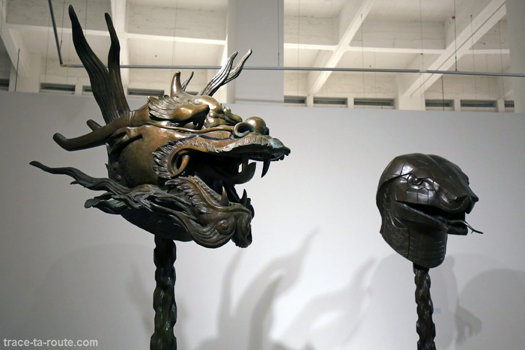 Dragon & Serpent - Circle of Animals / Zodiac Heads (2010) Ai WEIWEI - Collection permanente du Centre d'Art Contemporain CAC Malaga