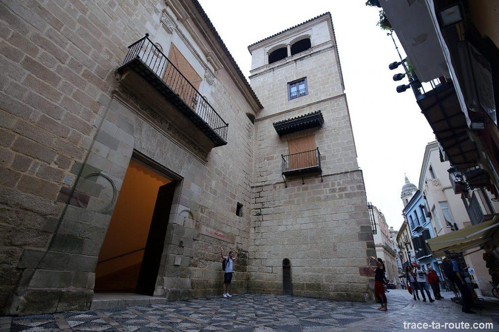 Entrée du Musée Picasso Malaga, Calle Beatas
