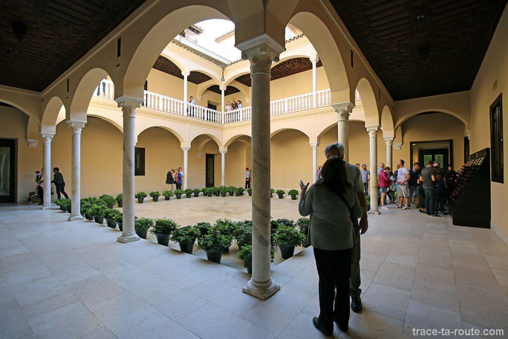 Cour intérieure du Musée Picasso, Malaga