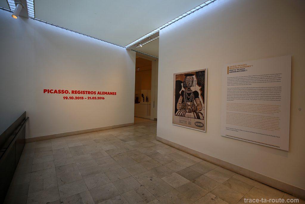 Exposition Picasso et les peintres allemands - Musée Picasso, Malaga