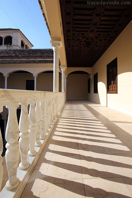 Balcon du Musée Picasso, Malaga
