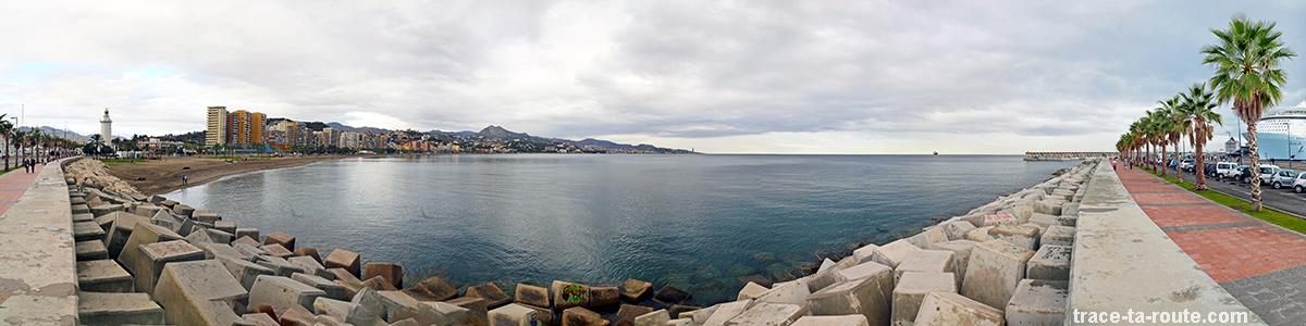Malagueta, plage de Malaga