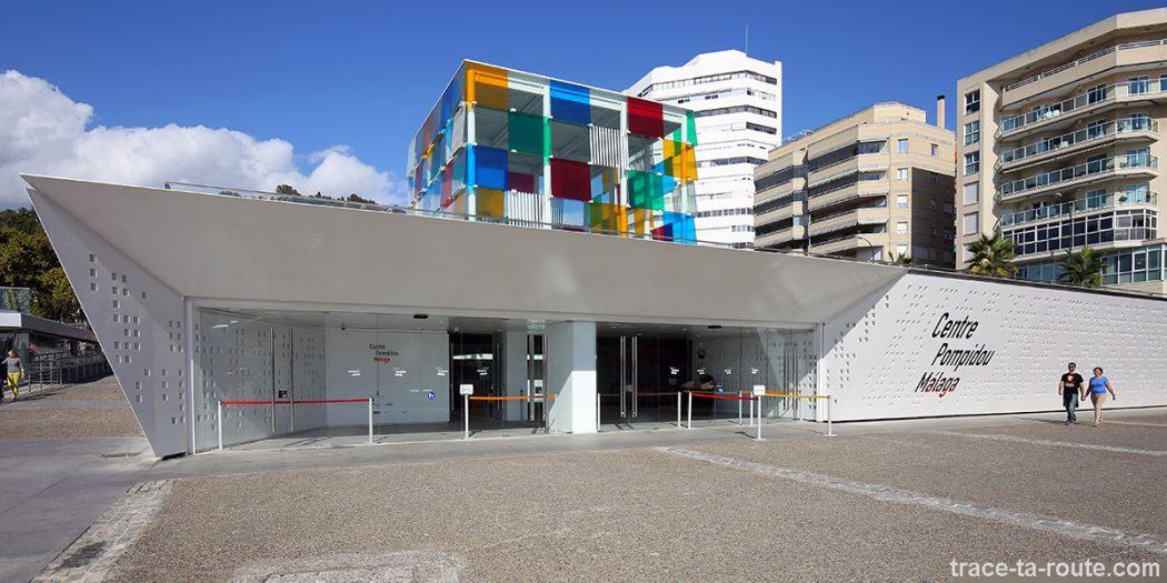 Centre Pompidou Malaga, MuelleUno