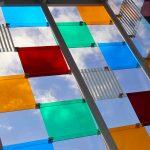 """El Cubo"" (2015) Daniel BUREN - Centre Pompidou Malaga, MuelleUno"