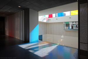 Intérieur du Centre Pompidou Malaga, MuelleUno