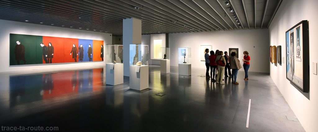 "Salle ""L'homme sans visage"" - collection permanente Centre Pompidou Malaga"