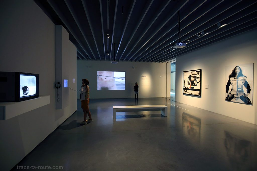 "Salle ""Le corps politique"" - collection permanente Centre Pompidou Malaga"