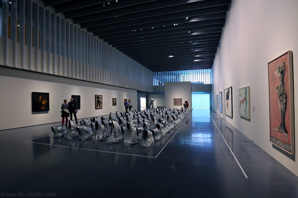 """Salle """"Le corps en morceaux"""" - collection permanente Centre Pompidou Malaga"""