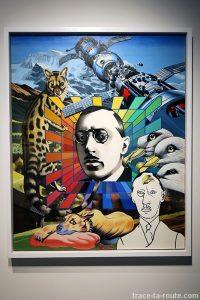 """Stravinsky"" (1974) ERRÓ - Centre Pompidou Malaga"