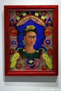 """""""The frame"""" (1938) Frida KAHLO - Centre Pompidou Malaga"""