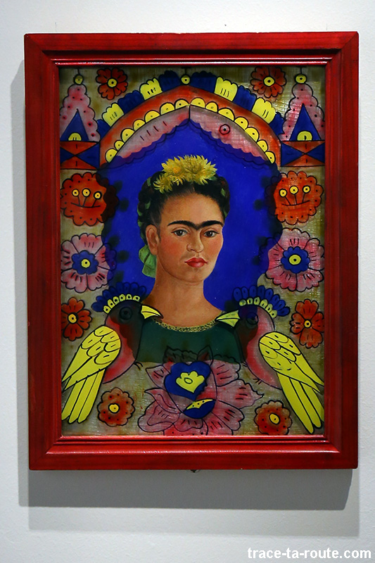 """The frame"" (1938) Frida KAHLO - Centre Pompidou Malaga"
