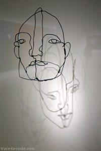 """""""Masque"""" (1929) Alexander CALDER - Centre Pompidou Malaga"""
