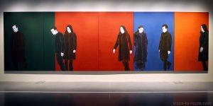 """Sans titre"" (1998) Djamal TATAH - Centre Pompidou Malaga"