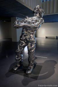"""""""Grosser geist Nr 7"""" (1996) Thomas SCHÜTTE - Centre Pompidou Malaga"""
