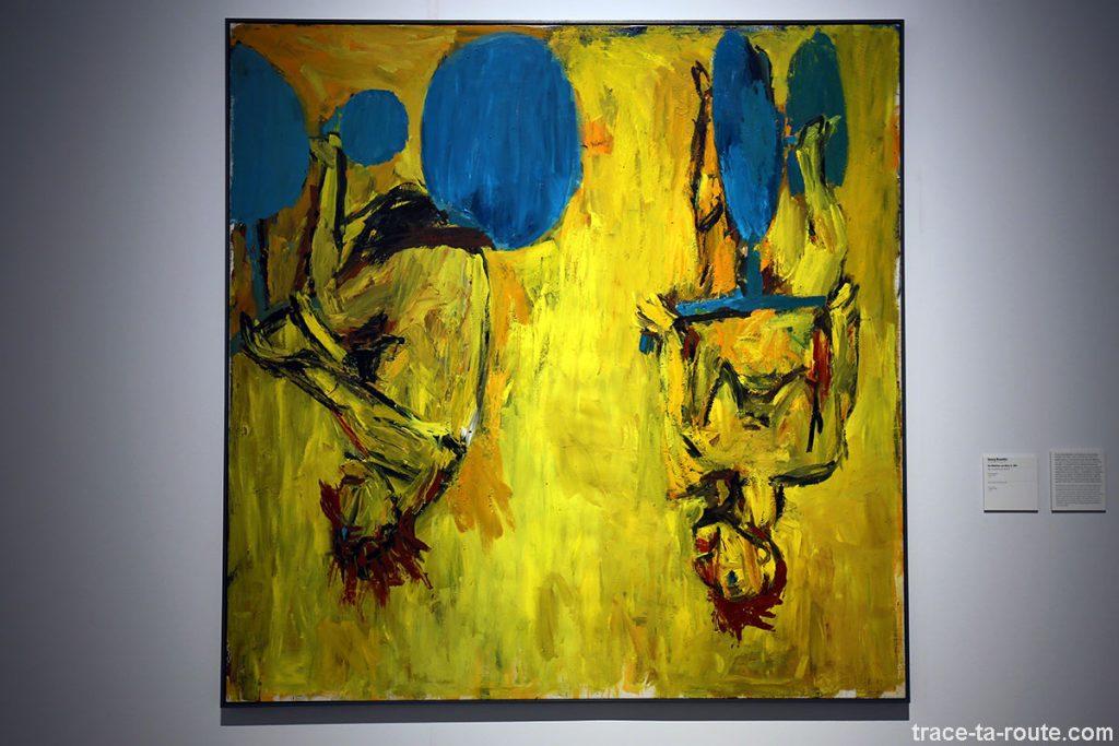 """""""Die Mädchen von Elmo II"""" (1981) Georg BASELITZ - Centre Pompidou Malaga"""