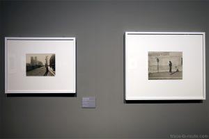 """""""Notre Dame de Paris"""" (1929) / """"Sans titre"""" (1937) Marianne BRESLAUER - Exposition """"Son Modernas, Son Fotografas"""" Centre Pompidou Malaga"""