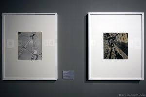 """""""Sans titre"""" (vers 1939) Marianne BRESLAUER / """"Sur le tournage de ''Sources noires, pétrole en France '' """" (1938) Denise BELLON - Exposition """"Son Modernas, Son Fotografas"""" Centre Pompidou Malaga"""